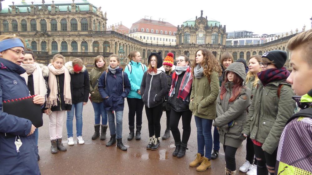 Sie sehen Bilder des Artikels: Exkursion nach Dresden
