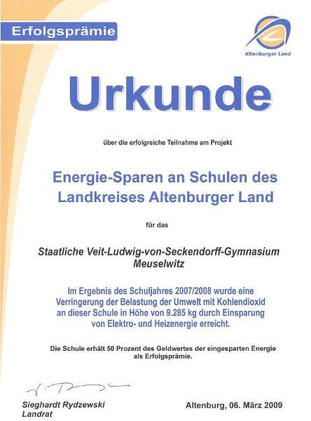 Energiesparschule