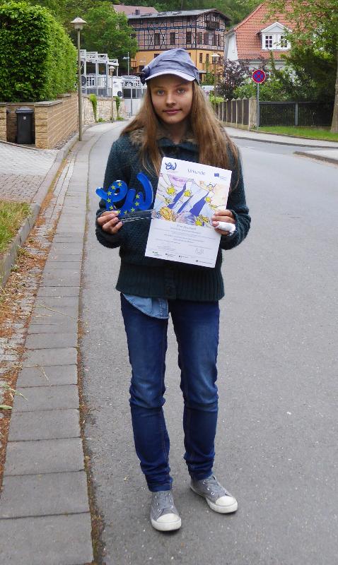 Sie sehen Bilder des Artikels: Herzlichen Glückwunsch - Tina Neumann!