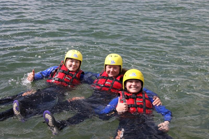 Sie sehen Bilder des Artikels: 7. Mitgas Schüler- Rafting