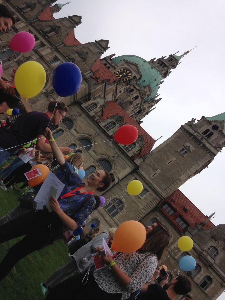 Sie sehen Bilder des Artikels: 25. Sprachenfest des Bundeswettbewerbs Fremdsprachen